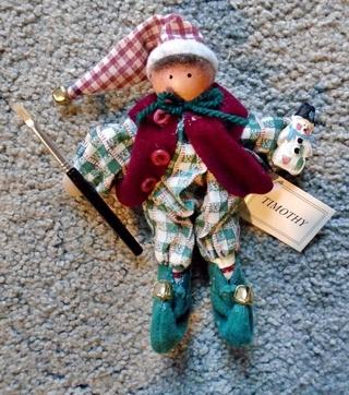 Timothy Elf Doll Decoration