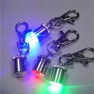 [GIN FOR FREE SHIPPING] 2PCs Light Cool Dog Tag Pet Signal Light Flashing Lamp LED Light