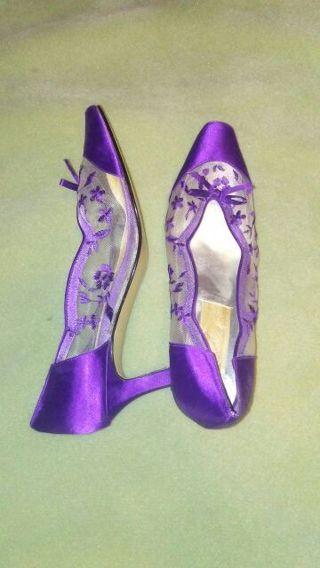Dolce purple heels