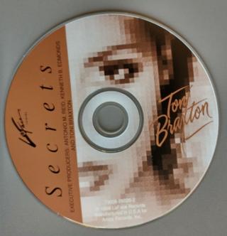 Toni Braxton, Secrets [CD ONLY]