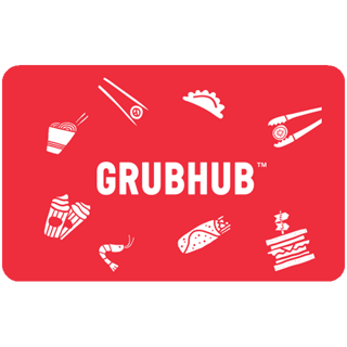 GrubHub $25 e-Gift Card