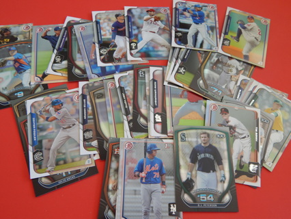 BASEBALL cards--New condition--lot of 3 Random cards