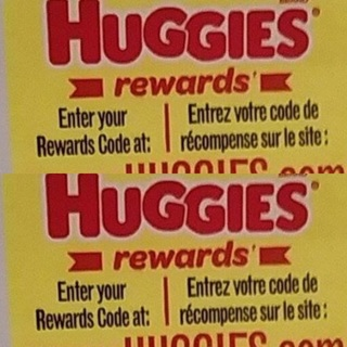 Two Huggies rewards