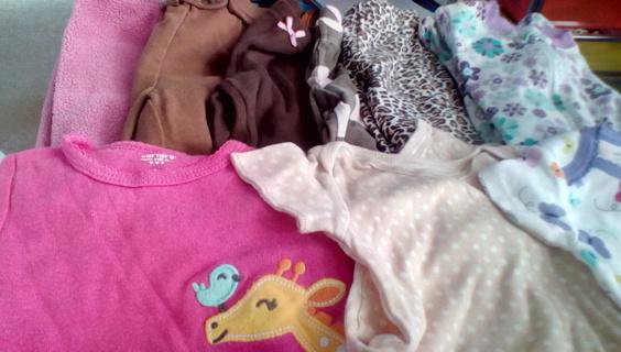 Infant Girls Size (0-3) Months Clothing: EUC