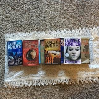 Eight Laurell K. Hamilton Books Anita Blake Novels