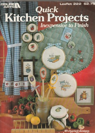 Cross Stitch Craft Leaflet: Quick Kitchen Projects
