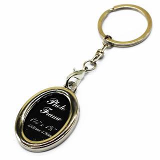 Slip In Photo Keychain