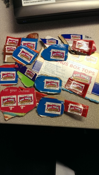 Box Tops for Education - 16+