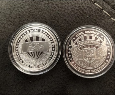Limited edition 999 solid silver  coins