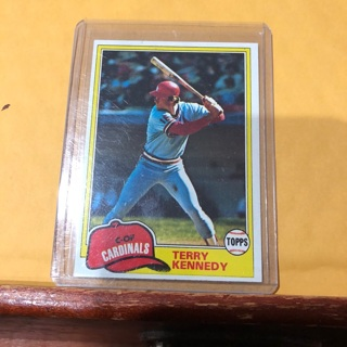 Free 1981 Topps Terry Kennedy Baseball Card Sports Trading Cards