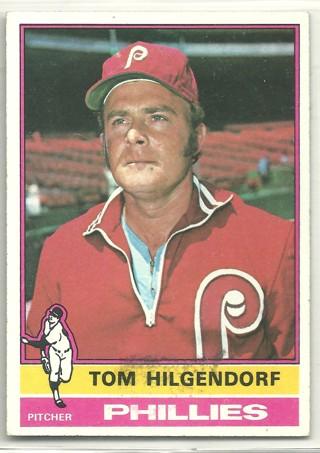 Tom Hilgendorf 1976 Topps #168 Philadelphia Phillies