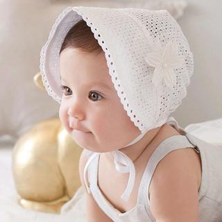 Fashion Baby Cap Solid Color Hollow Braid Hat Infant Newborn Kids Hats Lace Caps Children Bonnet S