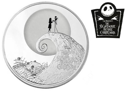 NEW The Nightmare Before Christmas Commemorative Coin FREE SHIPPING