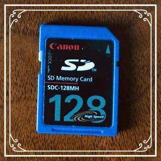 ★☆★Canon★128MH★SD Memory Card★☆★