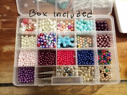 Jewelry Makers Beading Lot, GIN ONLY