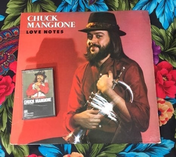 VINTAGE CHUCK MANGIONE ALBUM RECORD VINYL & VINTAGE TAPE CASSETTE FREE SHIPPING