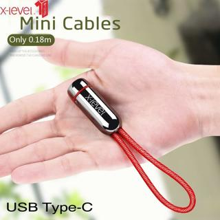 X-Level USB Type C Cable Fast Charging Data Type-C Cable For Xiaomi mi 8 Huawei P20 Lite USB-C Cab