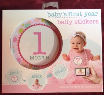 "Baby's First Year Belly Stickers  "" make an offer """