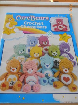 Free Care Bears Crochet Characters Pattern Book Crochet Listia