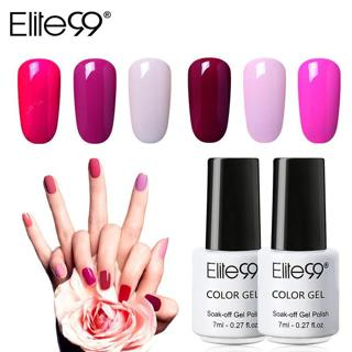 Elite99 7ml HOT Gel Nail Polish Soak Off UV Led Nail Gel Enamel Semi Permanent Gel Varnish Classic