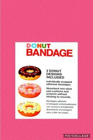 Donut Bandages Auction