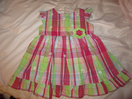 BEAUTIFUL 6/9 MONTHS SUMMER DRESS WITH DIAPER COVER