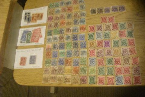 1948-51 Germany 126 Stamps CV $112