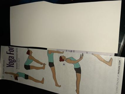 TWO YOGA WORKOUTS- for caregivers & chart