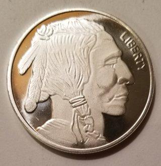 1 Ounce .999 Fine Silver Round