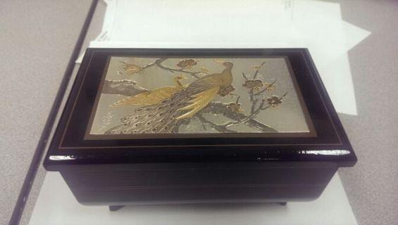 An Yoshiu Hara Art Of Chokin Music Jewelry Box