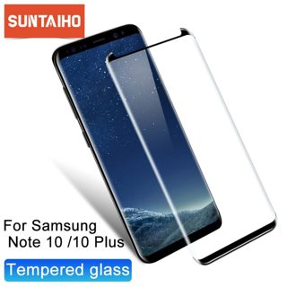 Suntaiho 3D Curved Glass for Samsung Galaxy S10 S9 S8 Plus S10E Screen Protector For Samsung S7 edge