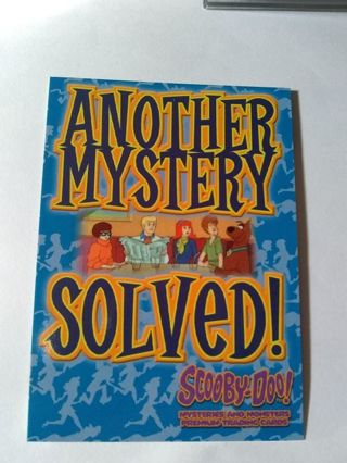 Scooby Doo Mysteries & Monsters Trading Card