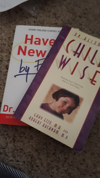 ( 2) Books (1) Child Wise  (2) Have a New Kid by Friday