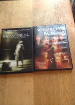 Sorority Row and The Possession
