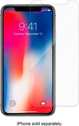 NEW Apple iPHONE Xs Clear Screen Protector for cell phone FREE GIFT