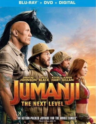 Jumanji The Next Level digital code from Blu Ray