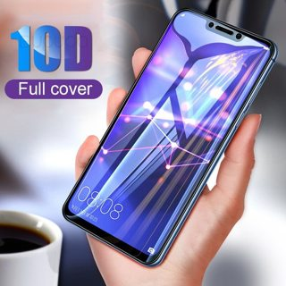 10D Full Cover Tempered Glass For Huawei P20 Lite Pro P10 Protective Glass film For Honor 9 Lite 10