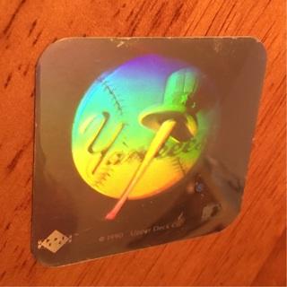 Free: 1990 Upperdeck 3D Hologram - New York Yankees - Sports Trading