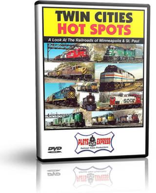 Twin Cities Hot Spots DVD