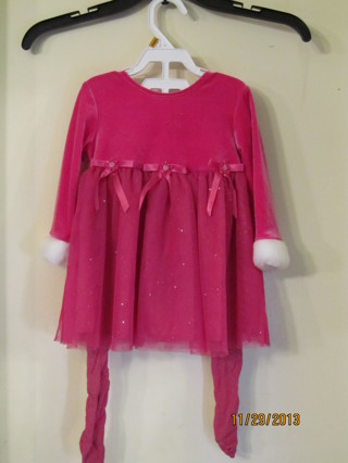 BONNIE BABY CHRITMAS OUTFIT~SIZE 12M
