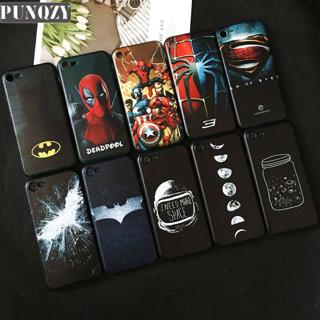 Cool marvel Black Phone Case For iPhone XR 6 6s 7 8 Plus 5 5s se X XS MAX Superman Spiderman Batma
