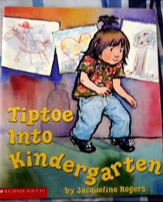 """'Tiptoe into Kindergarten""""..Scholastic Reading"""