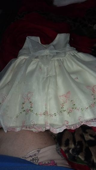Baby girl dress size 6m by Cinderella