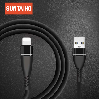 Suntaiho USB cable for iphone Xs Max for lighting cable cord charger the phone charging wire for