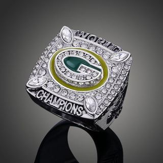 Green Bay Packers Aaron Rogers NFL League Super Bowl Championship Ring