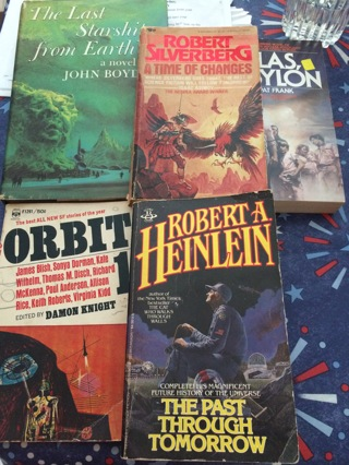 Science fiction book lot