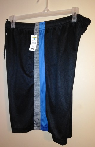 Brand New Men's ZONE PRO Athletic Shorts with Pockets Size XL