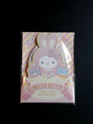 "Sanrio '2019'~""Hello Kitty"" Easter Memo Pad / Sticky Notes ☆HK Kawaii Bonuses☆ **Last One!!**"
