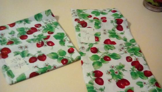 Fabric - Strawberries