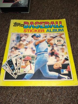 1980 Topps Stickers